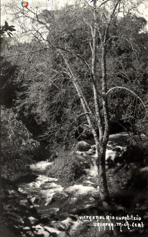 Vista del río Cupatitzio