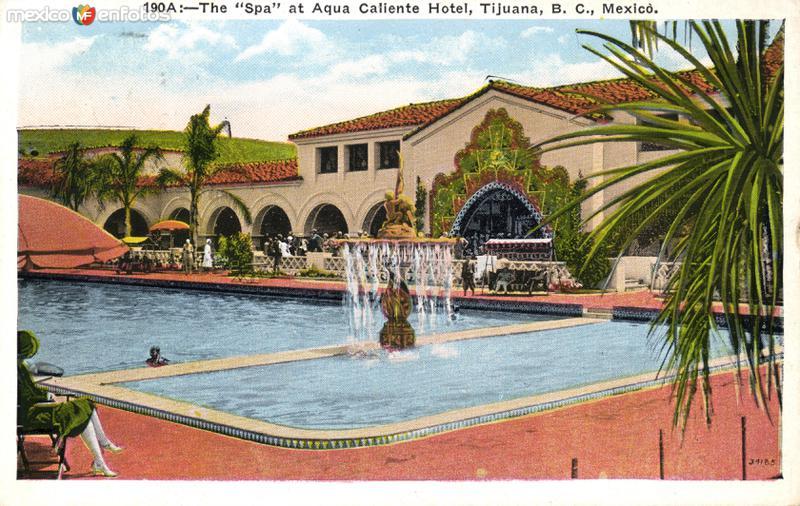 Piscina del hotel Agua Caliente
