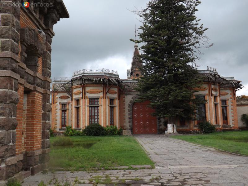 Casco de la ex-hacienda Santa Agueda. Julio/2012