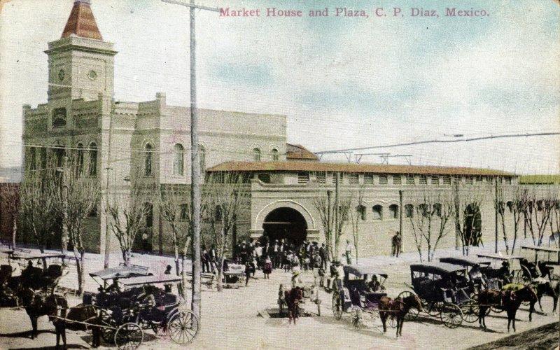 Plaza y mercado