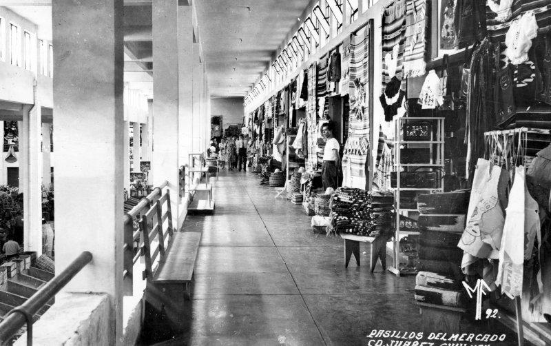 Interior del Mercado Juárez