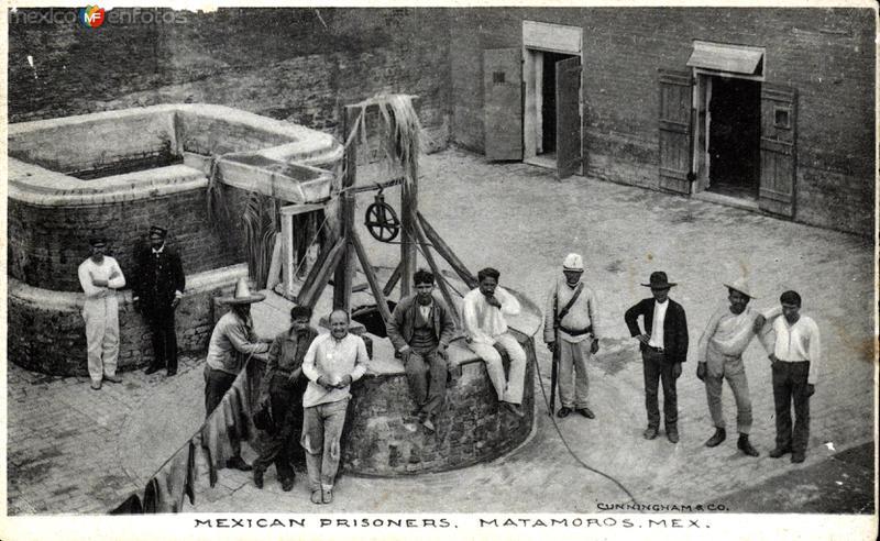 Prisioneros mexicanos en Matamoros