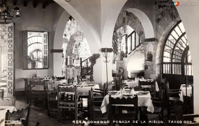 Comedor del Hotel Posada de la Misión