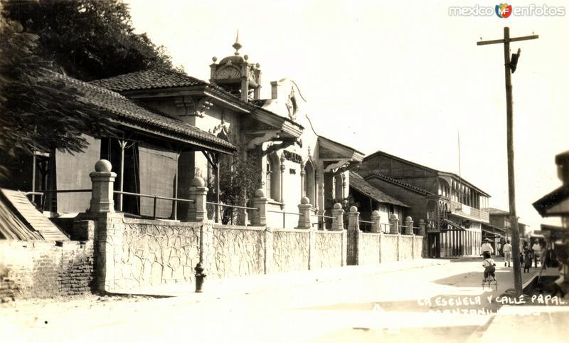 Escuela y Calle Papal