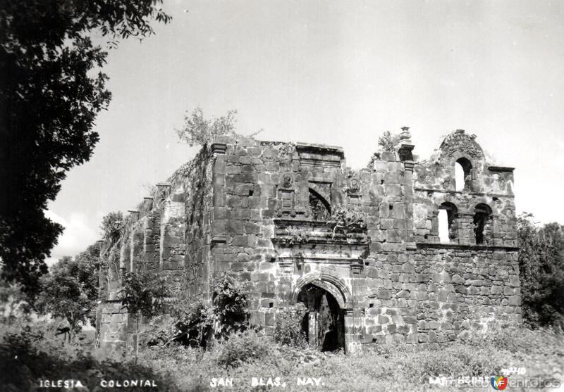 Ruinas de la iglesia colonial