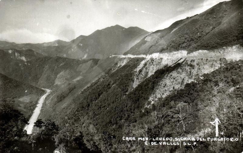 Sierra del Purgatorio en la Carretera México-Laredo