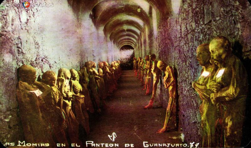 Momias en el Panteón de Guanajuato