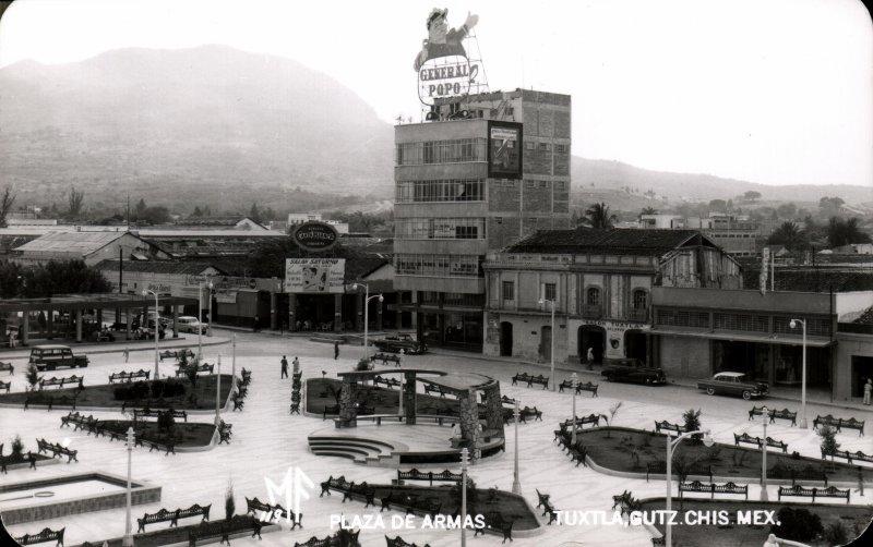 Plaza de Armas de Tuxtla Gutiérrez