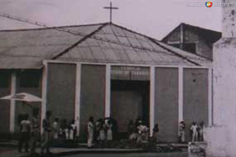 """""""EL JACALITO"""" (CATEDRAL DE TABASCO) VIAHERMOSA, TAB. 1944"""