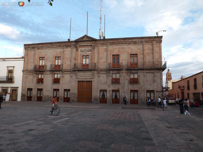 Edificio del antigüo palacio municipal de Querétaro. Agosto/2012