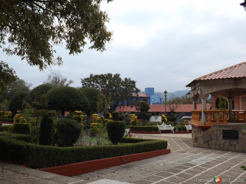 Parque central y kiosco de San Miguel Regla