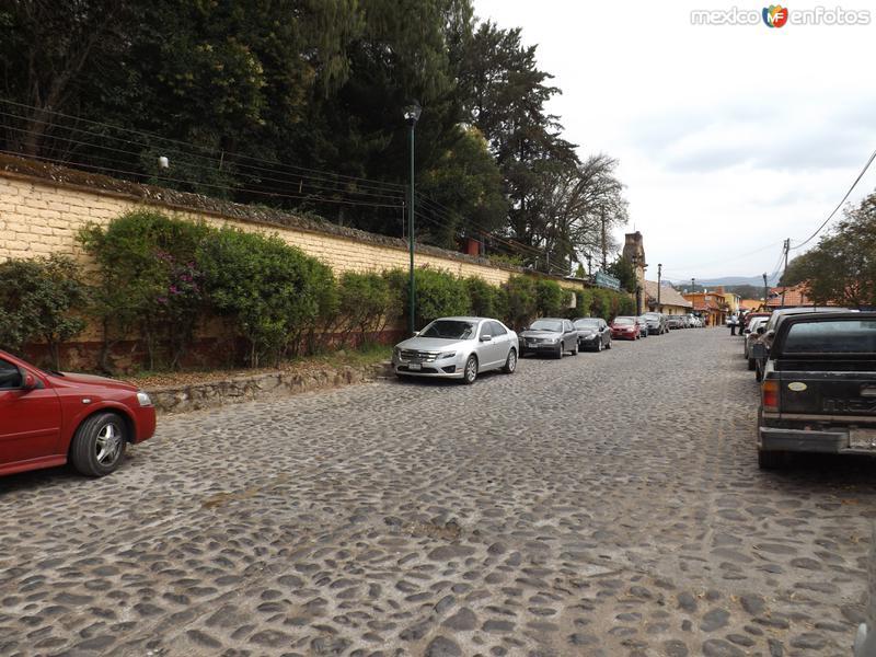 Calles del pueblo de San Miguel Regla