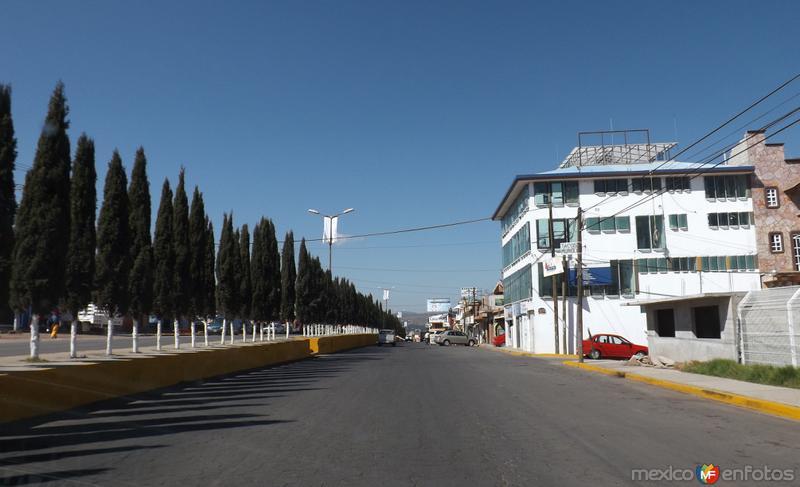 Entrando a la cd. de Chignahuapan, Puebla. Noviembre/2012