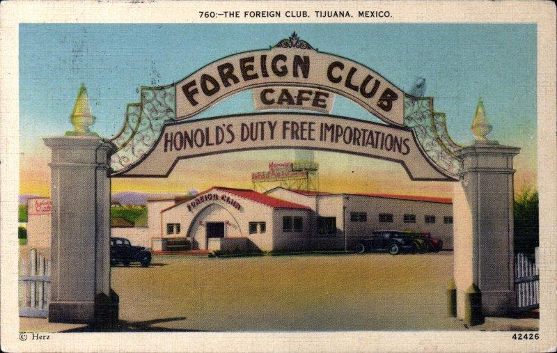 El Club de Extranjeros