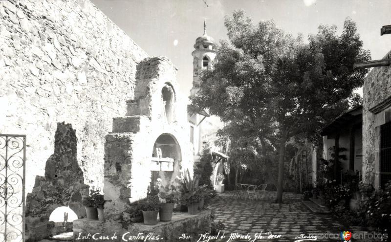 Interior de la Casa de Cantinflas