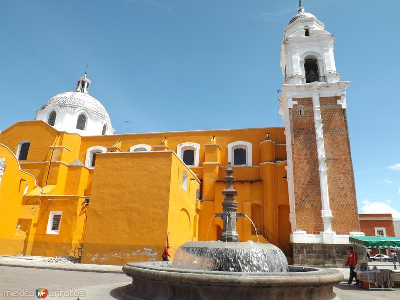 Parroquia de San José en el centro de Tlaxcala. Septiembre/2012