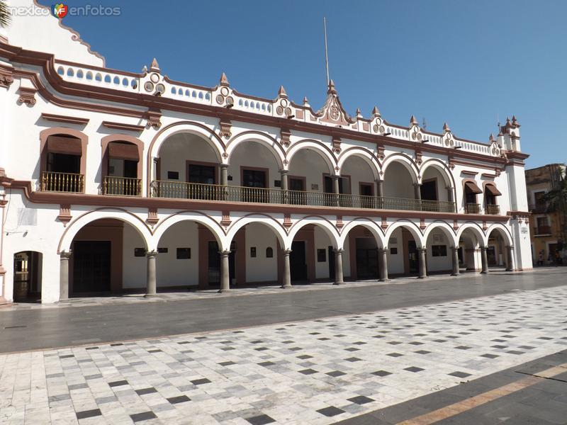 Palacio municipal de Veracruz. Enero/2013