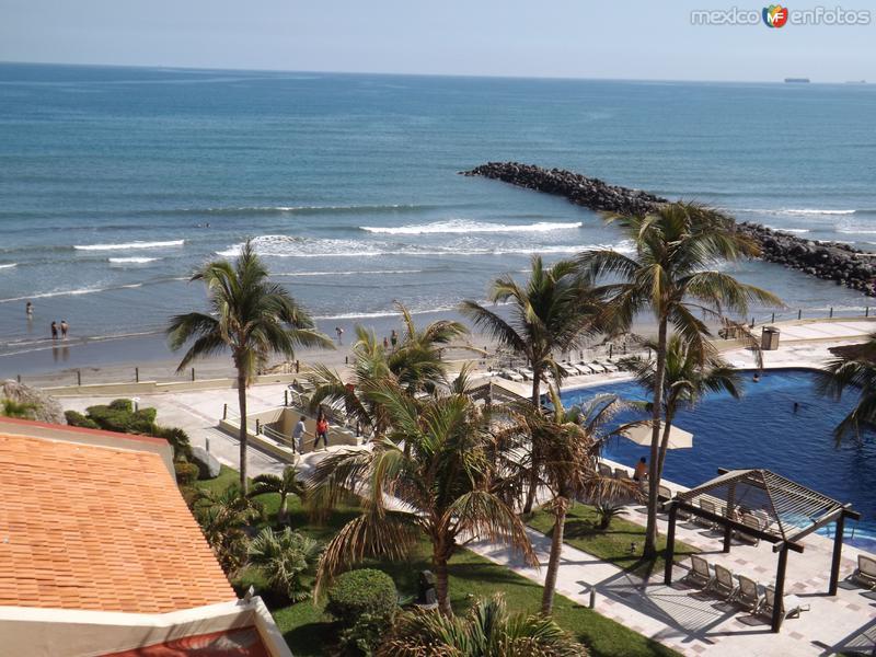 Playas de Boca del Río, Veracruz. Enero/2013