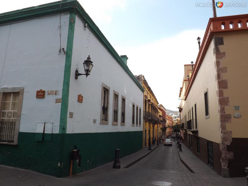 Calles de Guanajuato, Gto. Noviembre/2012