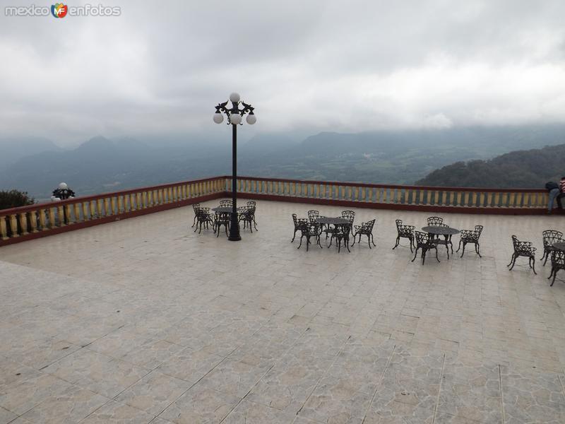 El mirador de las cascadas de Naolinco, Ver. Febrero/2013