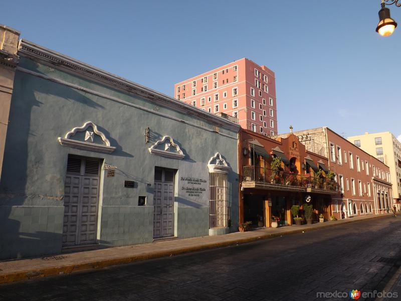 Arquitectura colonial en Mérida, Yucatán. Abril/2013