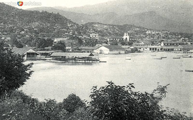Vista del puerto de Acapulco