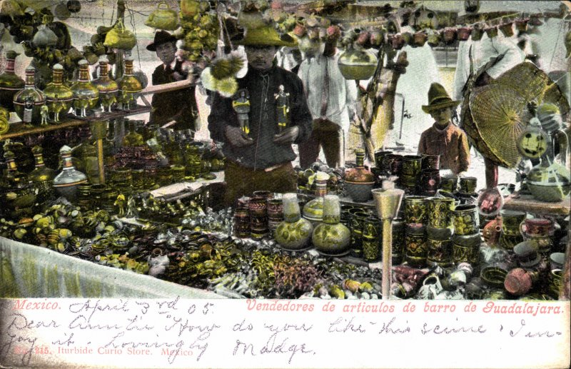 Vendedores de artesanías
