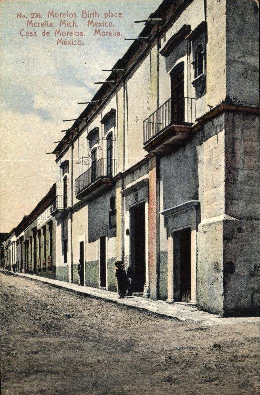 Casa donde Nació José María Morelos y Pavón