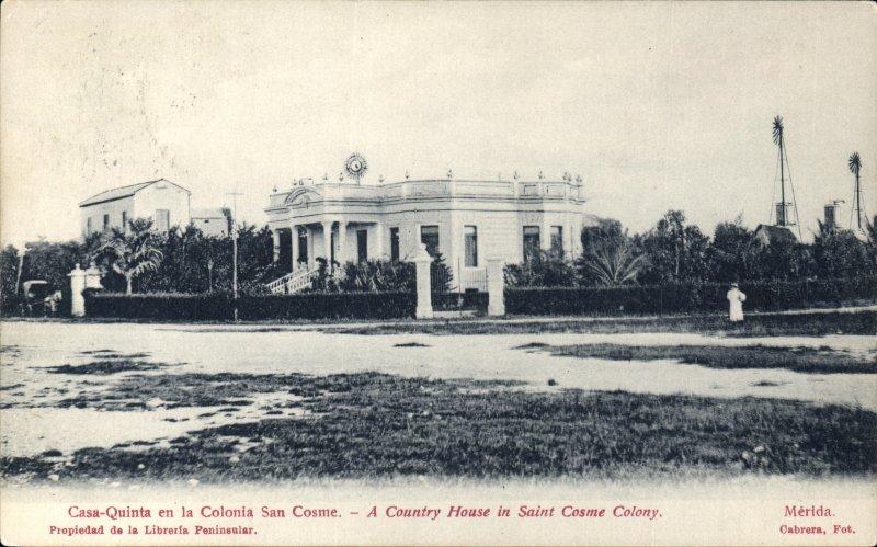 Casa Quinta, en la colonia San Cosme