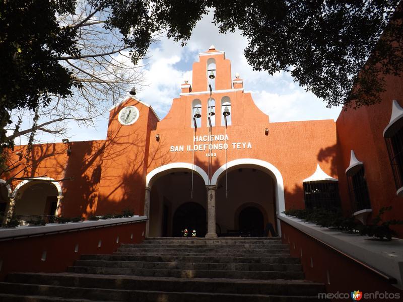 Hacienda San Ildefonso Teya, Yucatán. Siglo XVII. Abril/2013