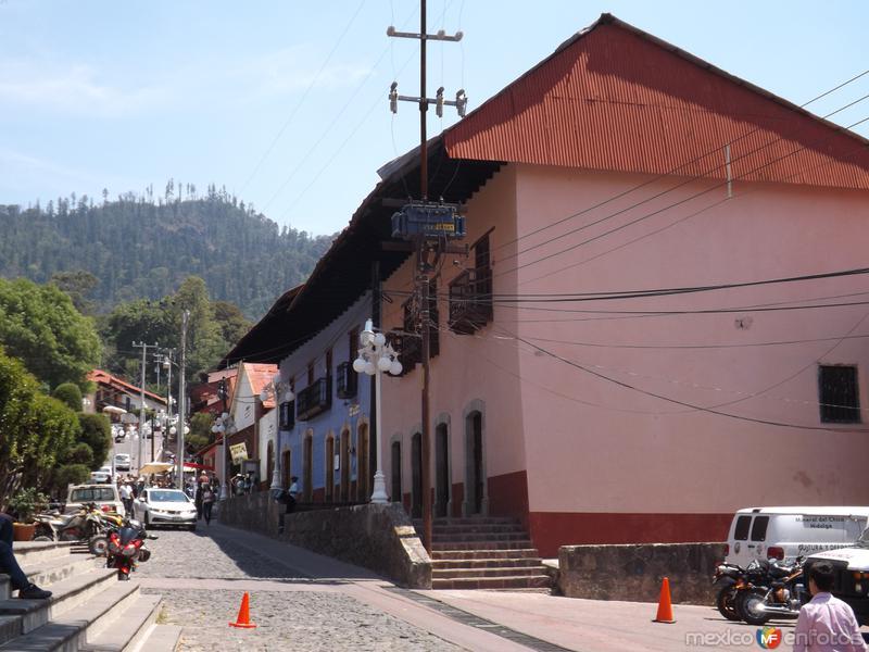 Vista de Mineral del Chico, Hgo. Mayo/2013