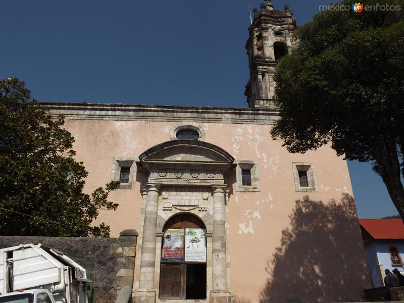 Portada de la parroquia de Mineral del Chico, Hgo. Mayo/2013