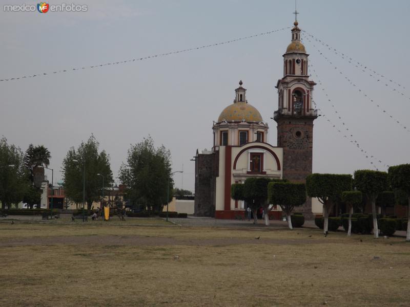 Parroquia de San Antonio Tecama, Cholula. Mayo/2013