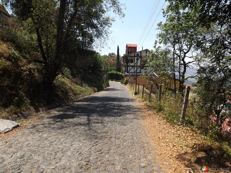 Calles del Pueblo Mágico de Mineral del Chico. Mayo/2013
