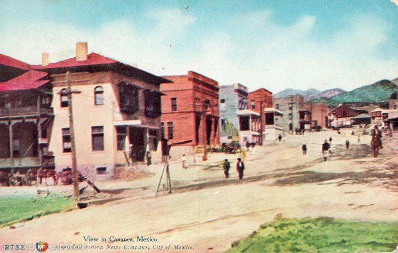Calles de Cananea