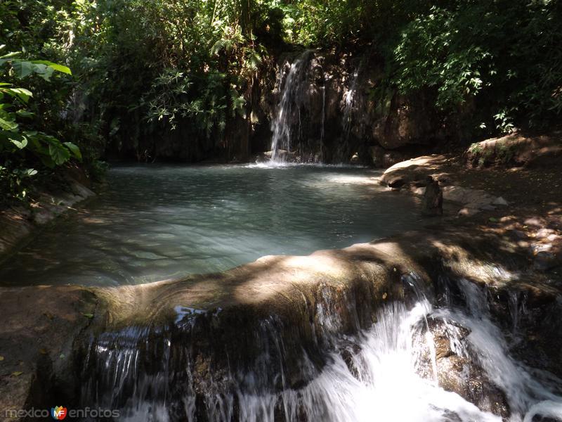 Albercas naturales en Los Manantiales. Julio/2013