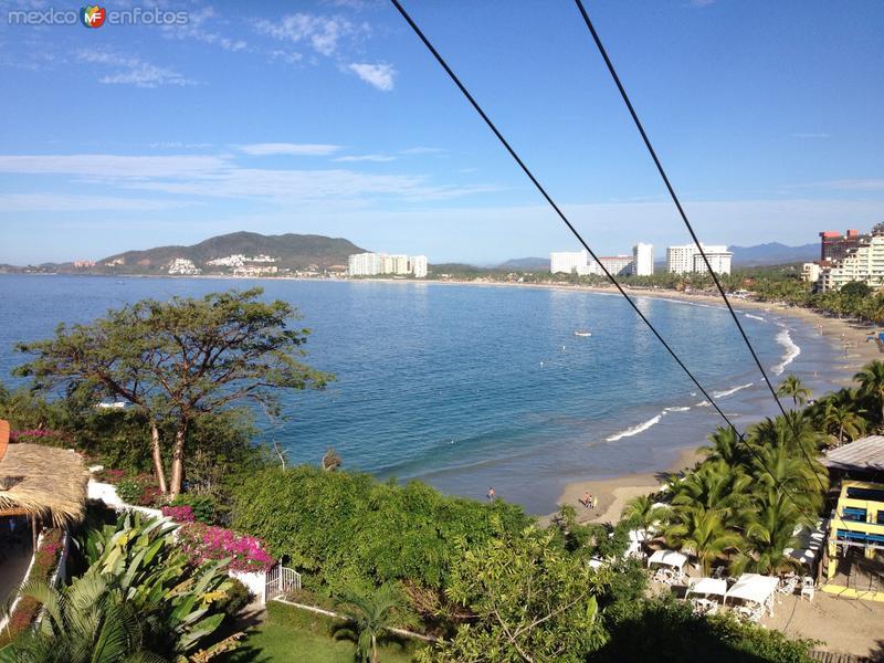 Playa El Palmar, en la zona hotelera de Zihuatanejo.