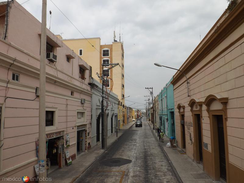 Calles del Centro Histórico de Mérida, Yucatán. Abril/2013