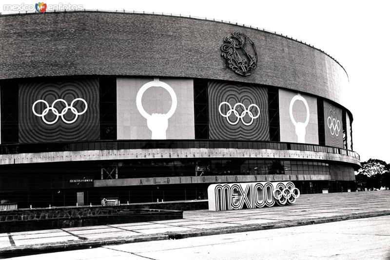 México 1968, Auditorio Nacional