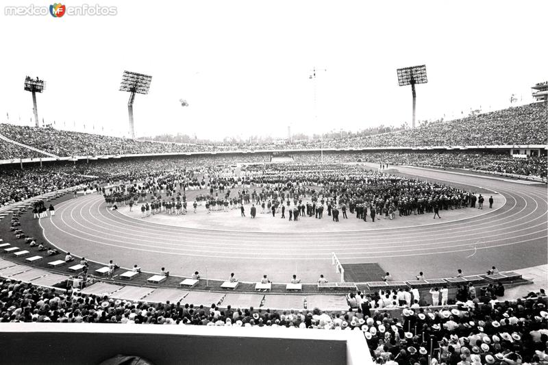 México 1968, Estadio Olímpico Universitario