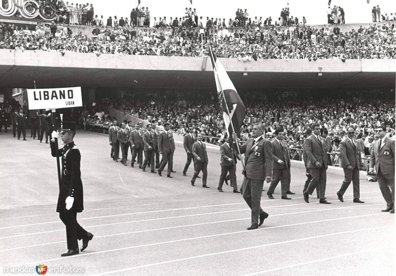 México 1968, eventos deportivos