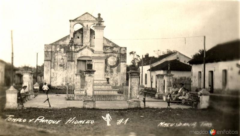 Templo y Parque Hidalgo