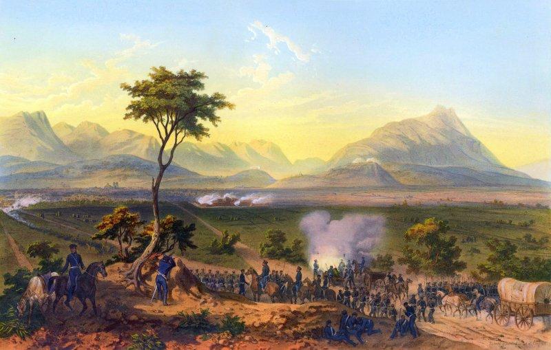 Invasión estadounidense de 1847: Batalla de Monterrey