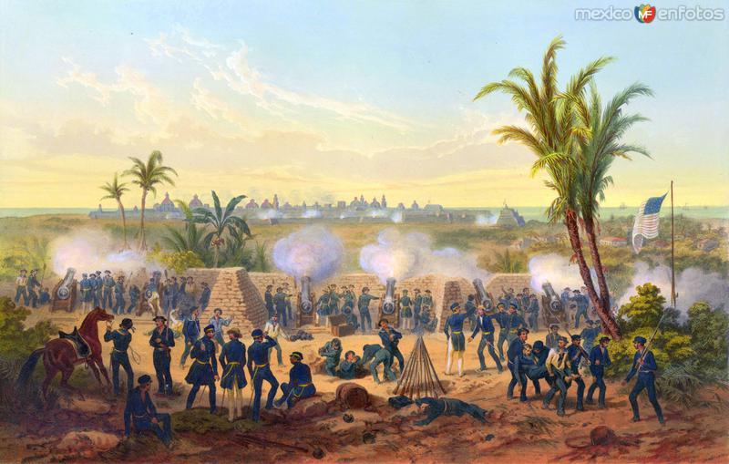 Invasión estadounidense de 1847: Bombardeo de Veracruz