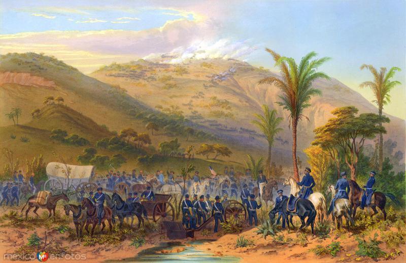 Invasión estadounidense de 1847: Batalla de Cerro Gordo