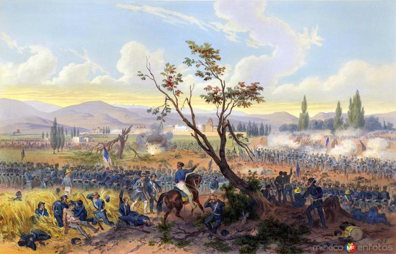 Invasión estadounidense de 1847: Batalla de Churubusco