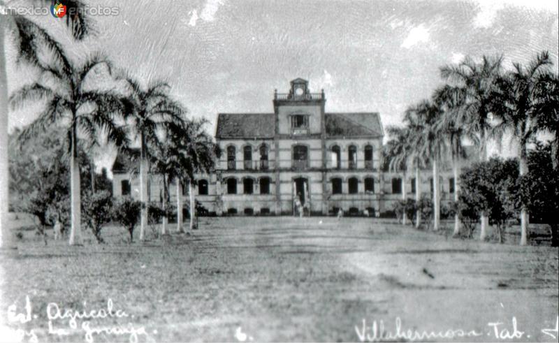 """""""LA GRANJA"""", VILLAHERMOSA, TABASCO. 1928"""