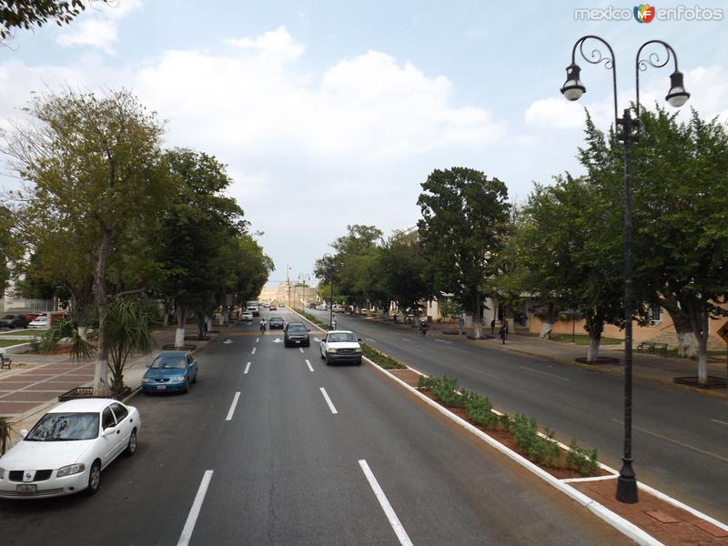 El Paseo Montejo de Mérida, Yucatán. Abril/2013