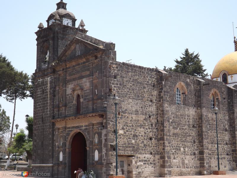 Parroquia de San Esteban Tizatlán, Tlaxcala. Abril/2013