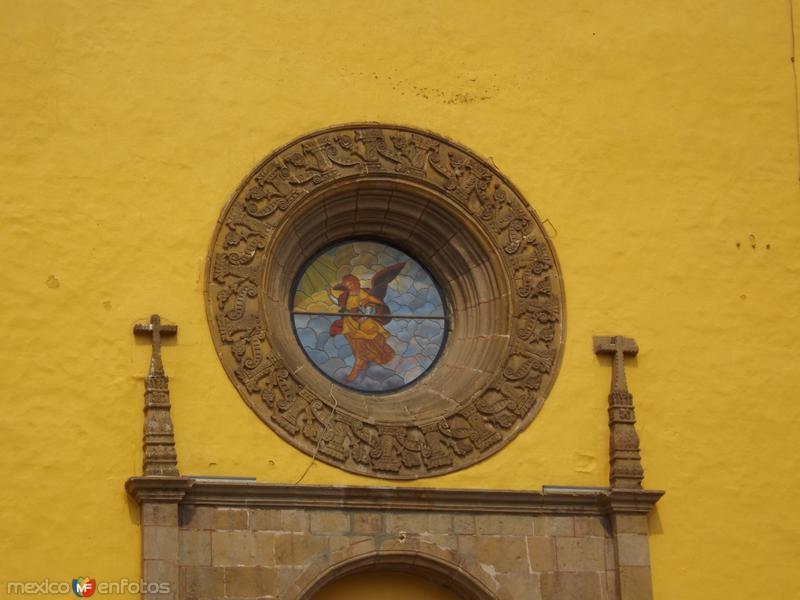 Rosetón del ex-convento de San Gabriel. Mayo/2013